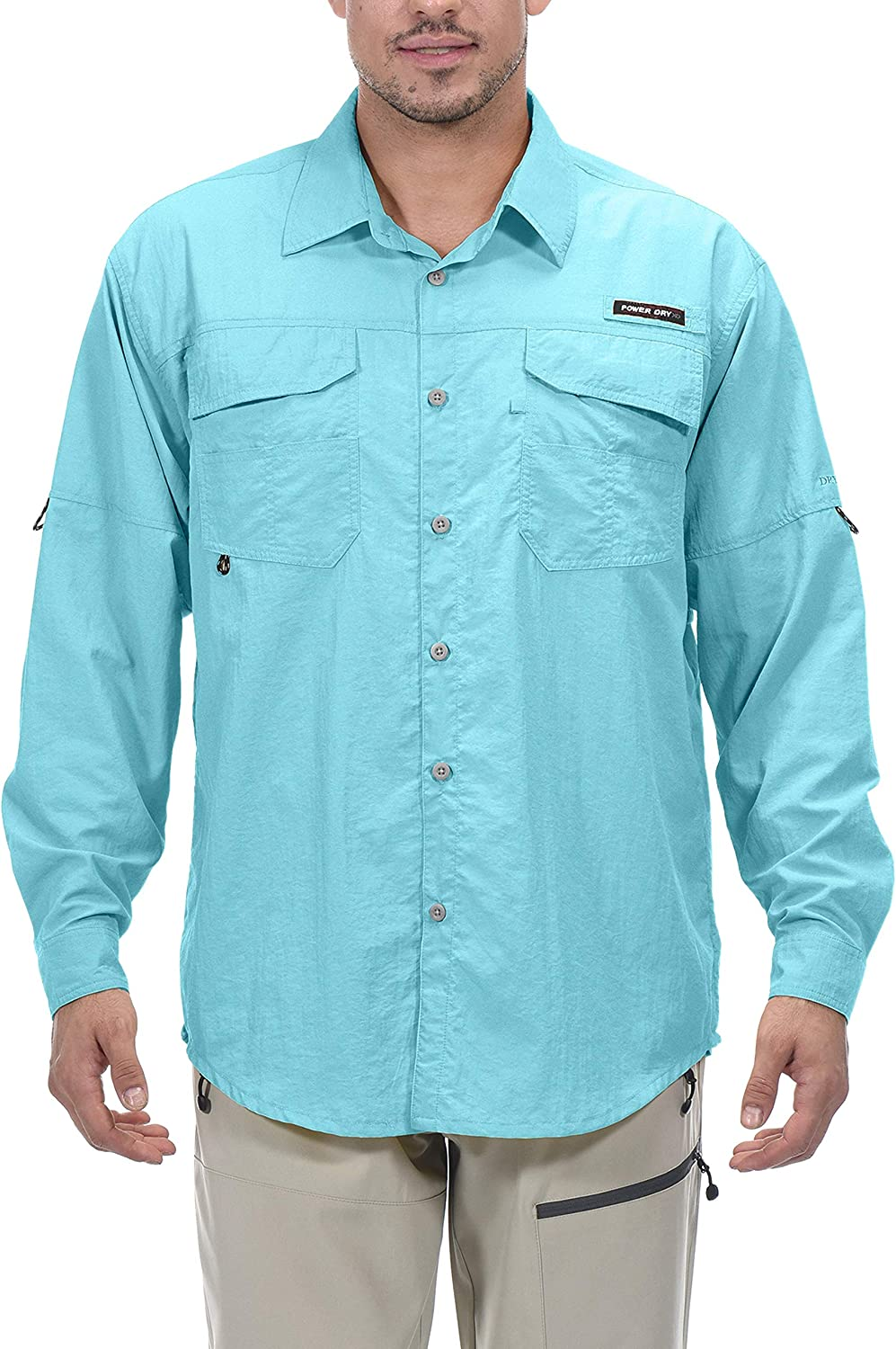 Little Donkey Andy Men's UPF Brand Cheap Sale Sales results No. 1 Venue UV Mosiquito Protection Shirt 50+
