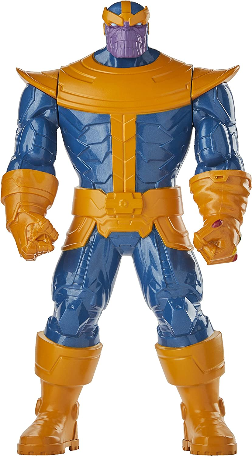 Marvel Thanos Toy 9.5-inch Scale Collectible Super Hero Action Figure, Toys for Kids Ages 4 and Up
