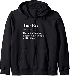 Tae Bo | Definition | Folding Clothes With People In Them | Zip Hoodie