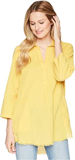 3/4 Sleeve Shirt Tunic