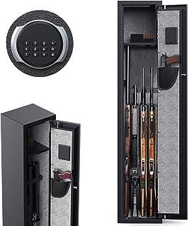 Best CISNO Rifle Gun Safe, Long Gun Safe for Home Rifles and Pistols, Quick Access 3-5 Rifles Shotguns Safe, Gun Storage Cabinet with Pistol Holders/Removable Shelf/Gun Cleaning Kit Racks Review