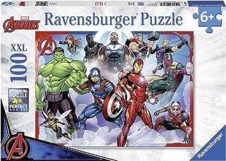 Ravensburger - Puzzle Marvel Avengers XXL - 100 pièces - version anglaise
