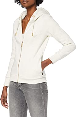 Superdry Established Zip Hood Pull Cardigan Femme