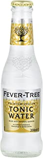 Fever-Tree Premium Indian Tonic Water, No Artificial Sweeteners, Flavourings or Preservatives, 6.8 Fl Oz (Pack of 24)