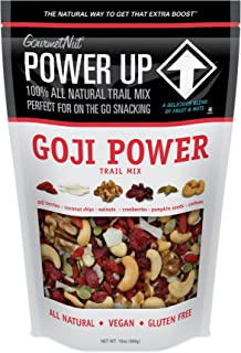 Gourmet Nut Goji Power Trail Mix 13oz Bag
