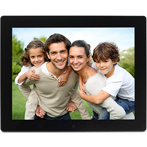 Micca NEO 15-Inch Digital Photo Frame with 8GB Storage, High Resolution LCD, 720P Video Playback, Auto On/Off Timer (M153A)