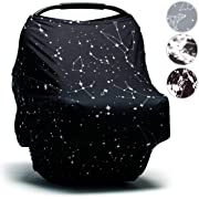 Moody Park Baby - Baby Car Seat Cover and Nursing Cover (Constellation Print)