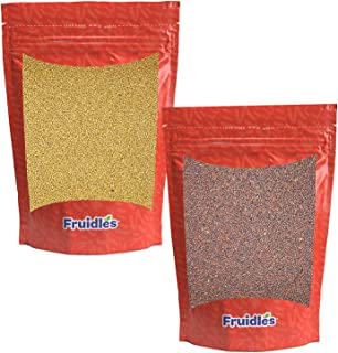 Yellow and Brown Mustard Seeds, Add Aroma, Flavor, and Seasoning to Every Dish, Kosher Certified, 10 Oz Each Total of 20 Oz
