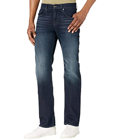 7 For All Mankind Austyn Relaxed Straight Squiggle (Baker) Men