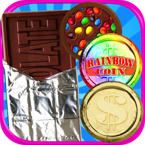 Chocolate Coins & Candy Money - Kids Chocolate Coins & Money Bars Maker FREE