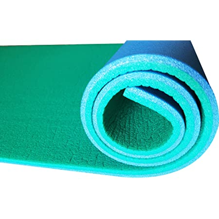 Hic et Nunc Sport Tappetino Yoga Palestra in Casa Home Gym - Tappetino Fitness Palestra 100% Made in Italy - Materassino Palestra Yoga Mat 180 cm x 55 cm, Spessore 1,2 cm