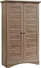 Sauder Harbor View Storage Cabinet, L: 35.43 x W: 16.73 x H: 61.02, Salt Oak finish
