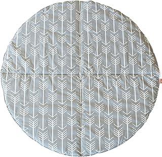 Bambella Designs Play Mat, Arrows, Grey