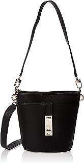 GUESS Women's Asher Convertible Bucket, Black - VG747730
