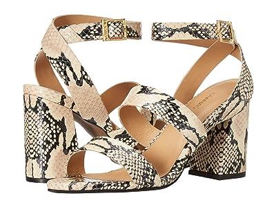 KAANAS Komodo Strappy Snake Heel (Snake) Women