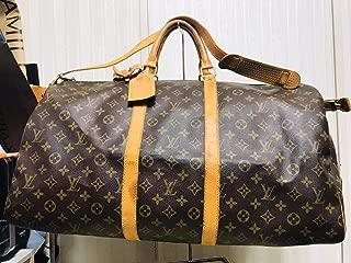 Louis Vuitton monogram canvas Keepall 55 Luggage M41414