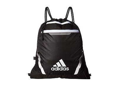 adidas Rumble III Sackpack (Black/White) Bags
