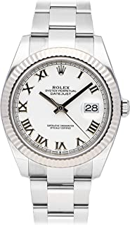 Datejust Mechanical (Automatic) White Dial Mens Watch 126334 (Certified Pre-Owned)
