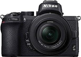 Nikon Z50 - Cámara sin Espejo con Objetivo 16-50 DX VR, trípode, Tarjeta SD 64GB 1000X y Libro - Versión NIKONISTAS