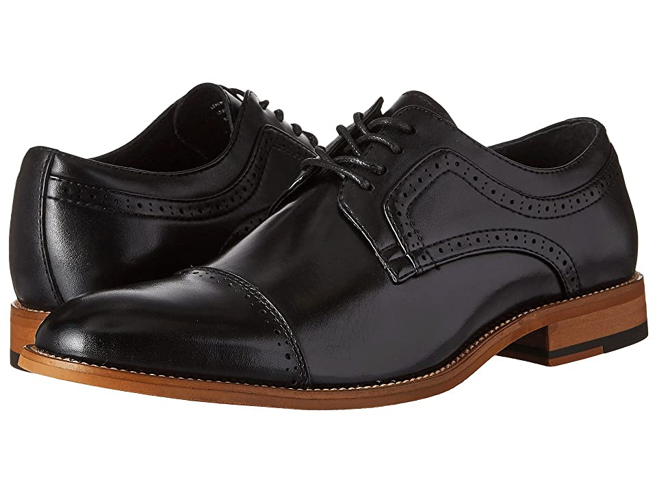 Stacy Adams Dickinson Cap Toe Oxford (Black) Men