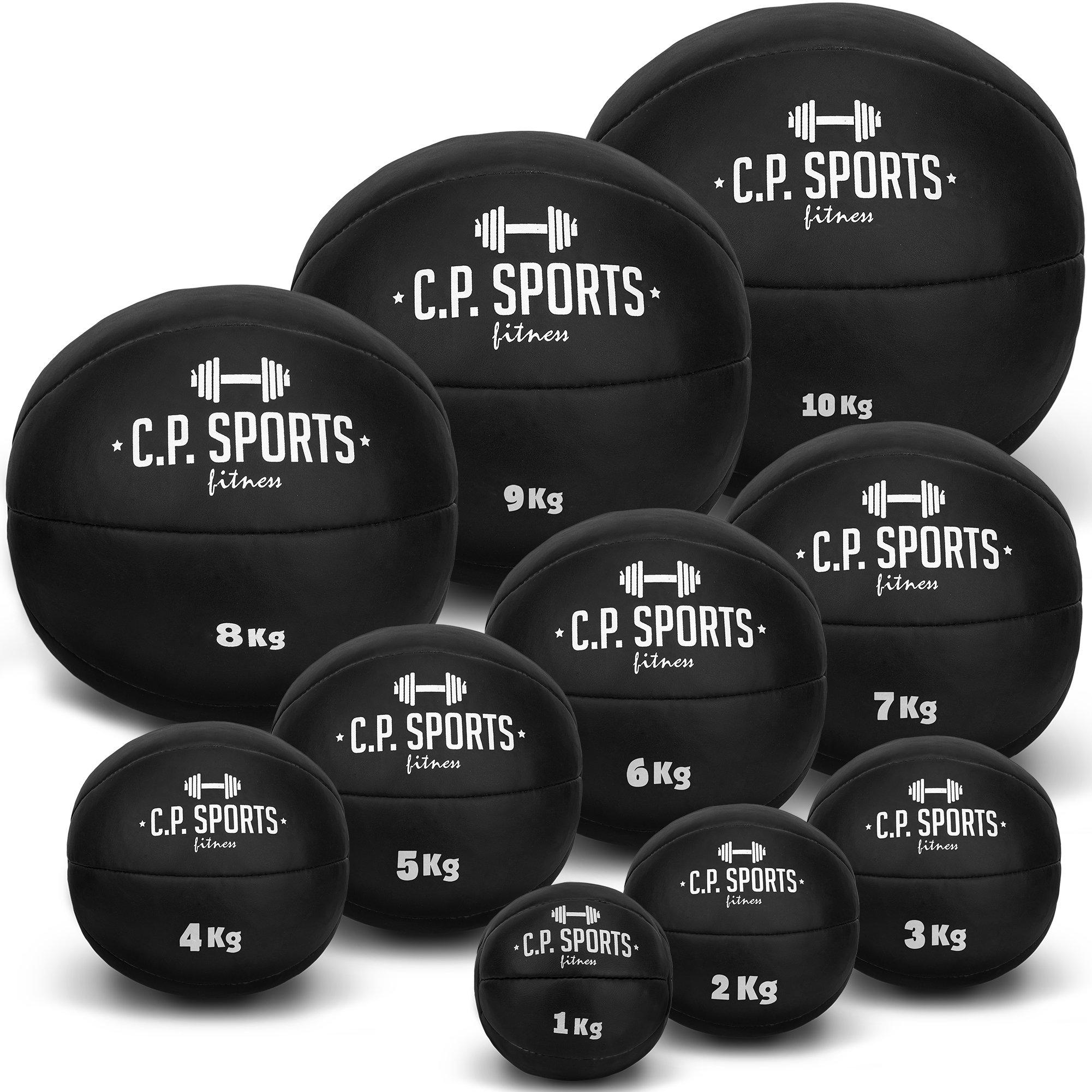 C.P. Sports Balón Medicinal Set 1 – 10 kg, peso Ball, balones ...