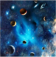 Bgraamiens Puzzle-Blue Fantasy of Outer Space- Space Puzzle 1000 Piece Challenge Blue Board Jigsaw Puzzles