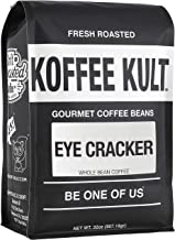 Koffee Kult Eye Cracker Espresso Beans - Bright, Bold Medium Roast with a Citrus Twist Coffee (32oz)