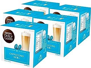 Nescafé Dolce Gusto Cappuccino Ice, Lot de 5, 5 x 16 Capsules (40 portions)