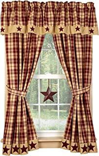 Best Primitive Star Kitchen Curtains of 2020 - Top Rated ...