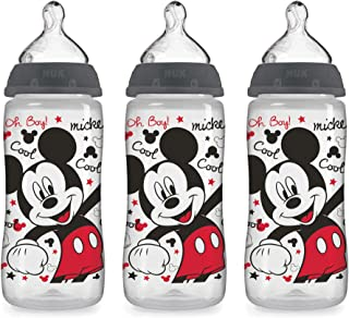 NUK Disney Baby Bottle, Mickey Mouse, 10 Ounce (Pack of 3)