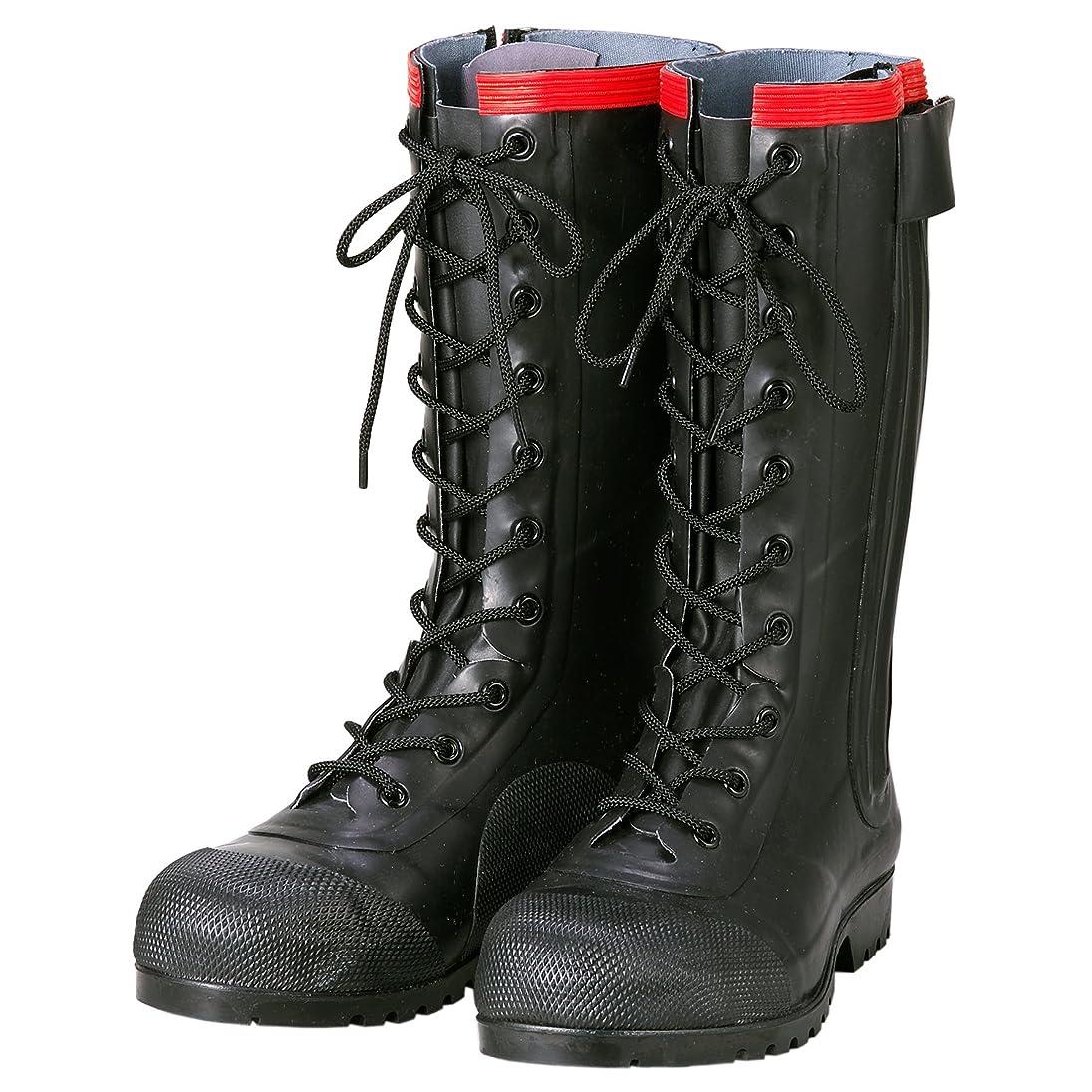 チャーミングが欲しい降下Antistatic Boots AE030 Rubber Safety Lace-up Boots Conductive Type / 静電気帯電防止長靴 AE030 安全編上長靴導電タイプ