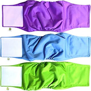 Pet Magasin Male Dog Belly Manner Band Wraps Nappies (3 Pack)