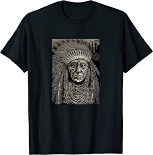 Native American Indian Chief Shirt - Emek Artman T-Shirt