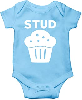 Stud Muffin - Future Ladies Man Current Mamas Boy - Cute One-Piece Infant Baby Bodysuit