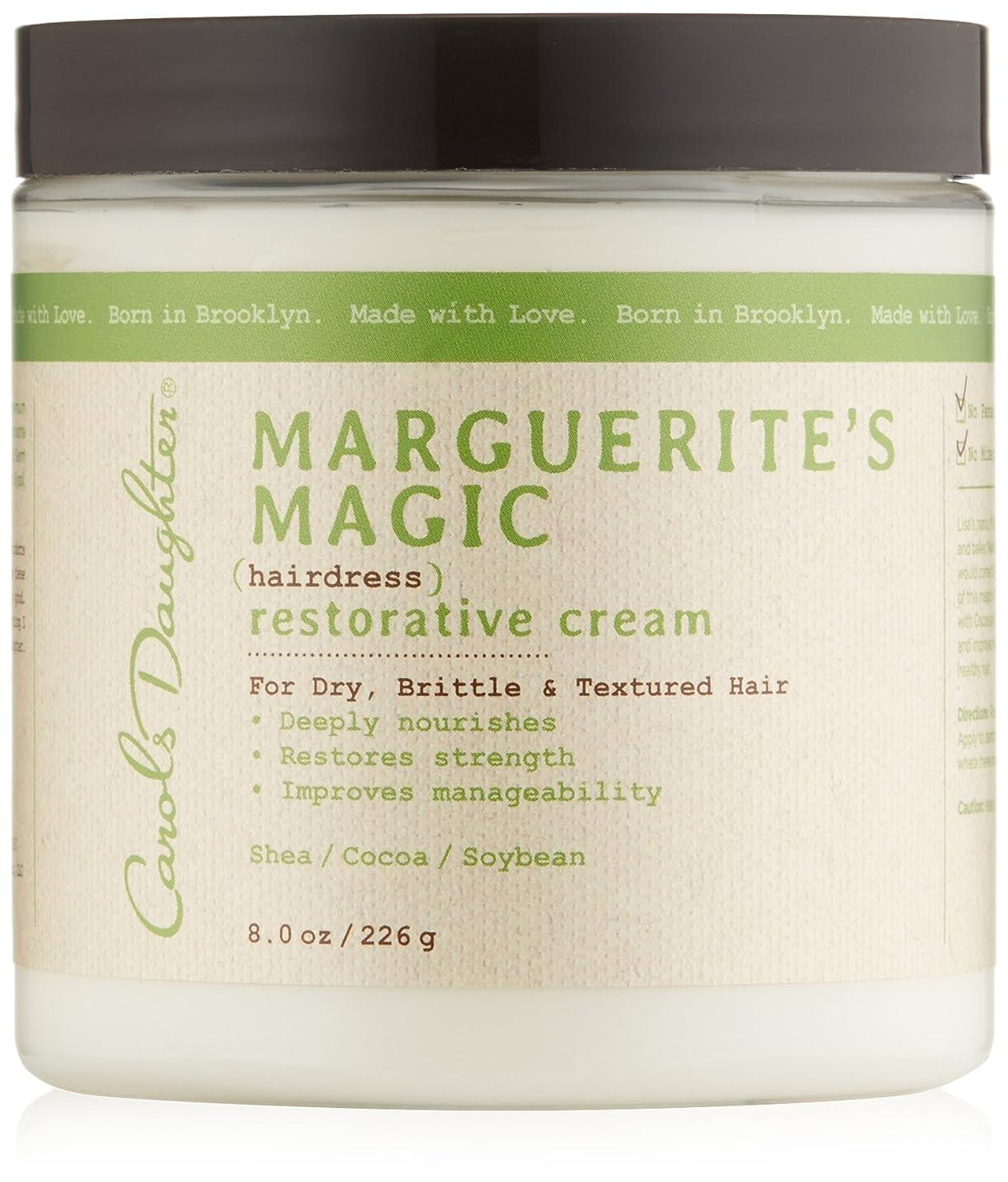 年金受給者許容電化するキャロルズドーター マルゲリーテス マジック ヘアドレス リストレーティブ クリーム (乾燥して切れやすい髪用) 226g/8oz