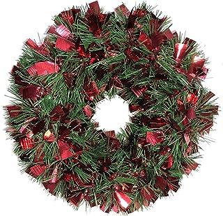 Brite Star Pine Sparkle Wreath Tinsel, Red