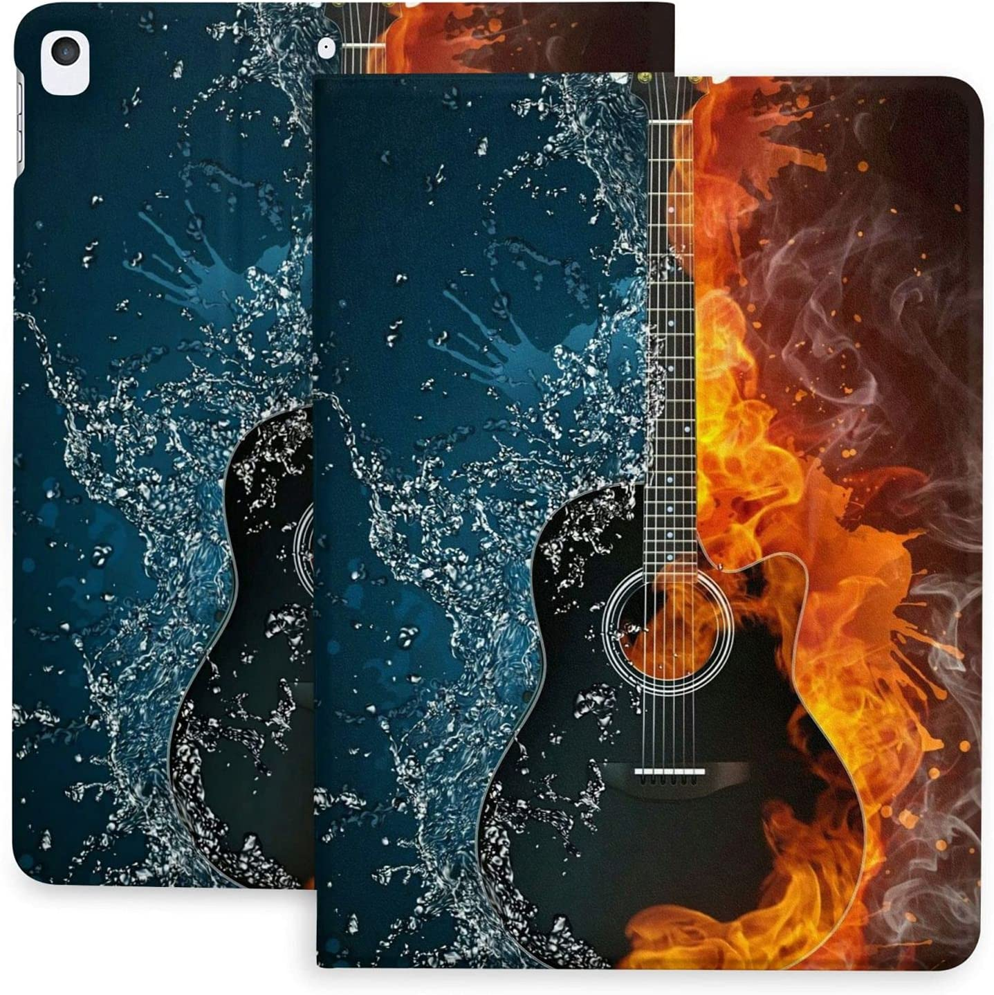 Super intense SALE Unique Electric Guitar Omaha Mall in Fire and 2020 Pad Case Funny Water