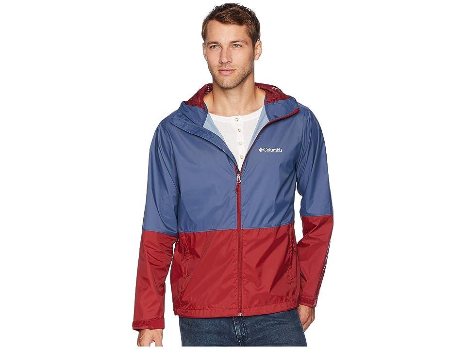 Columbia Roan Mountaintm Jacket (Dark Mountain/Red Element) Men