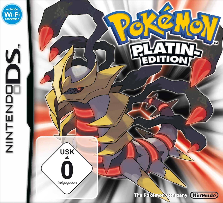 Nintendo DS Pokemon Some reservation Excellent Platinum Version