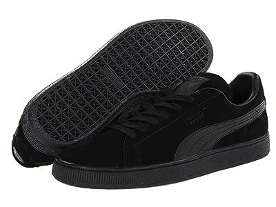 PUMA Suede Classic (Black/Black) Shoes