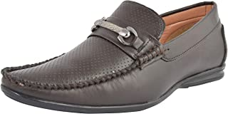 LeeGraim Men's Leather Loafers