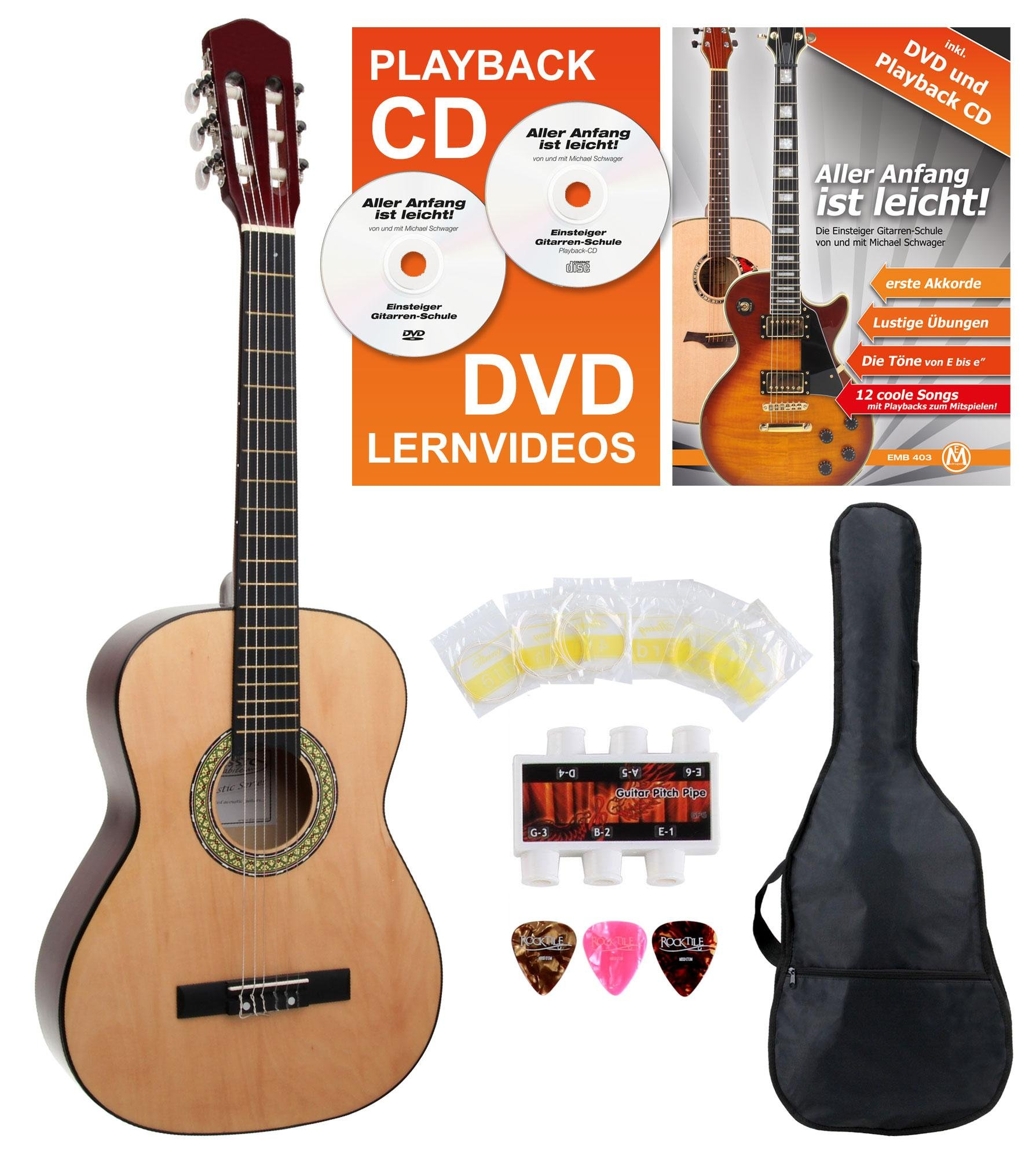 Classic Cantabile Acoustic Series AS-851 3/4 guitarra de concierto ...