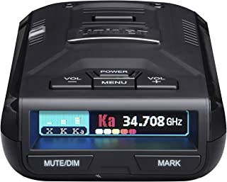 UNIDEN R3 EXTREME LONG RANGE Laser/Radar Detector, Record Shattering Performance, Built-in GPS w/ Mute Memory, Voice Alert...