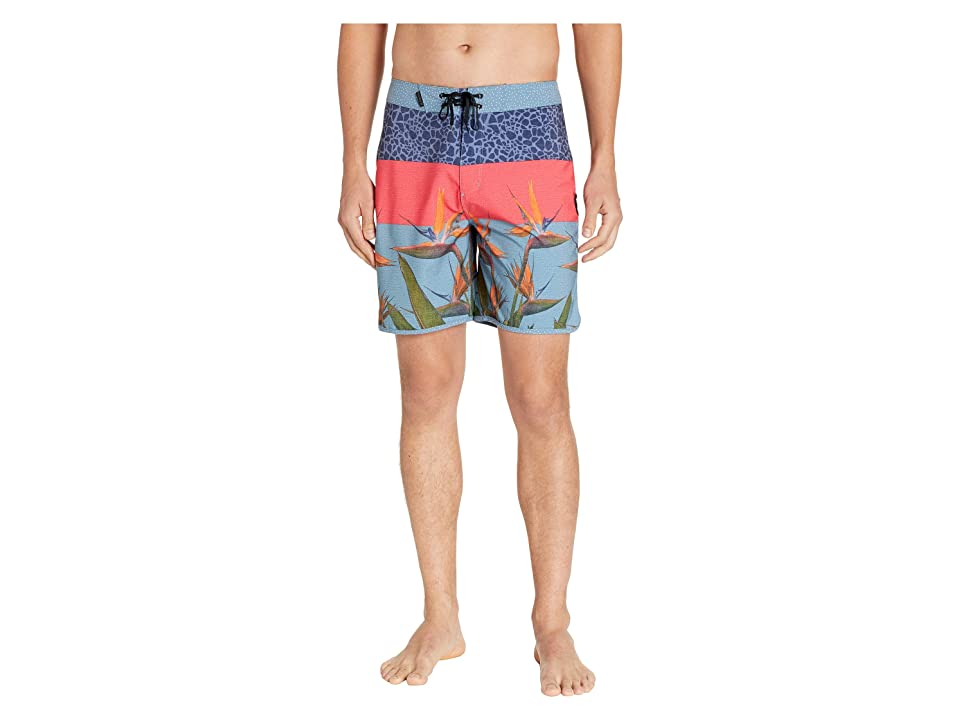Hurley Phantom Bird 18 Boardshorts (Obsidian) Men