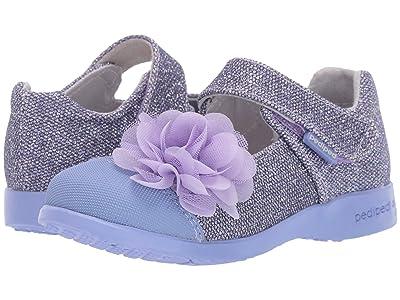 pediped Estella Flex (Toddler/Little Kid) (Ultra Violet) Girls Shoes