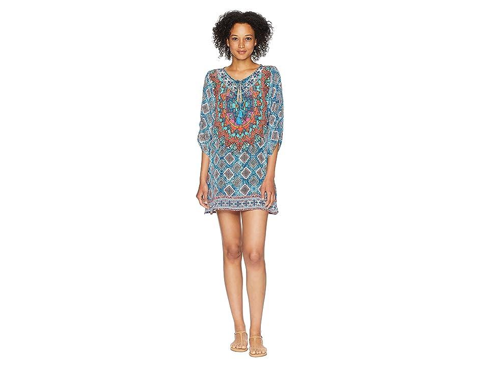 Tolani Colby Tunic Dress (Denim) Women