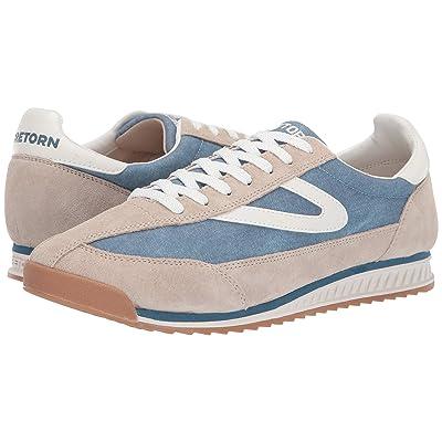 Tretorn Rawlins 3 (Beige39305/Light Blue/White Leather/Textile) Men