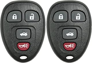 Keyless2Go New Remote Car Key Fob for LaCrosse Cobalt Malibu Grand Prix G6 Solstice Models that use 22733523 Remote (2 Pack)