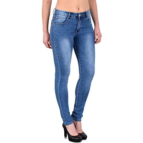 Damen Skinny Jeans Größe 46: