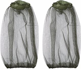 FEESHOW 2 Pack Anti- Mosquito Insect Head Net Mesh Mask Hat Face Protection Protective Cover for Beekeeping Beekeeper Outd...